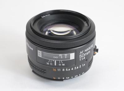 Nikon ニコン Nikkor ニッコールAF Nikkor 50mm F1.4 京都 レンズ 中古