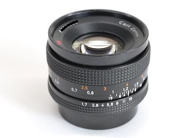CONTAX RTS コンタックス Planar プラナー 50mm f1.7 MM
