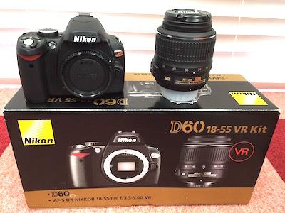 Nikon ニコン D60 18-55mm レンズキット VR カメラ レンズ 京都 買取 中古