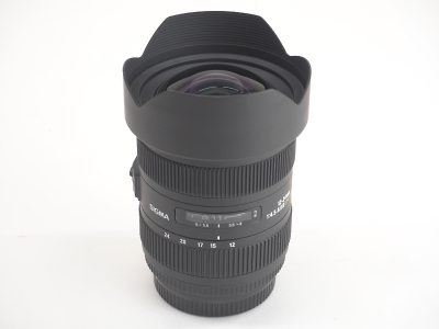 シグマ SIGMA 12-24mm F4.5-5.6 II DG HSM 京都 レンズ 中古
