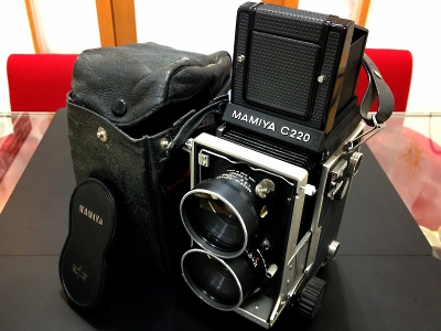 マミヤ MAMIYA C220 プロフェッショナル 80/2.8 カメラ 二眼レフ 京都 中古 買取