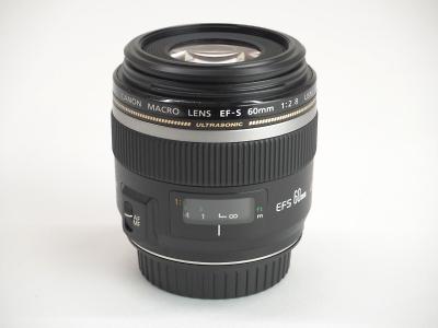 キヤノン CANON EF-S 60mm F2.8 マクロ USM レンズ 中古 新品 京都 四条 買取専門