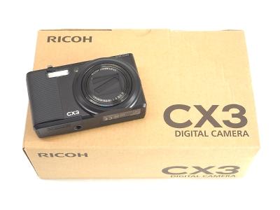 RICOH リコー CX3 デジタルカメラ コンパクトカメラ 京都 四条 新品 中古 買取