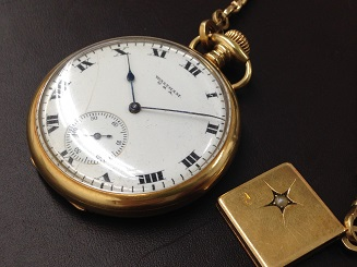 Waltham Watch Company ウォルサム 懐中時計 K18